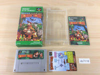 dc7116 Super Donkey Kong Country BOXED SNES Super Famicom Japan