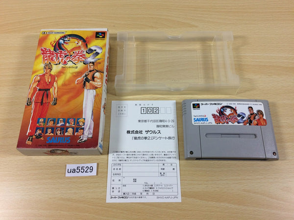 Ua5529 Art Of Fighting 2 Boxed Snes Super Famicom Japan J4u Co Jp