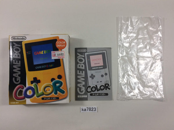 ka7823 GameBoy Color Console Box Only Console Japan