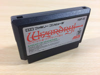 ua3298 Wizardry III 3 BOXED NES Famicom Japan