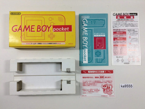 ka9555 GameBoy Pocket Console Box Only Console Japan