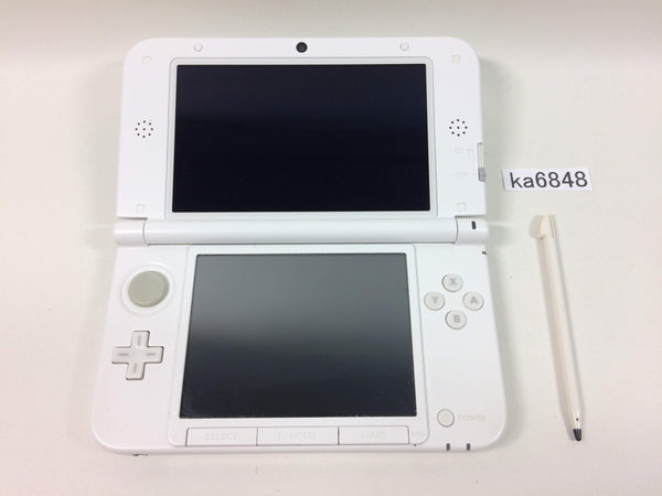 ka6848 Not Working Nintendo 3DS LL XL 3DS White Console Japan