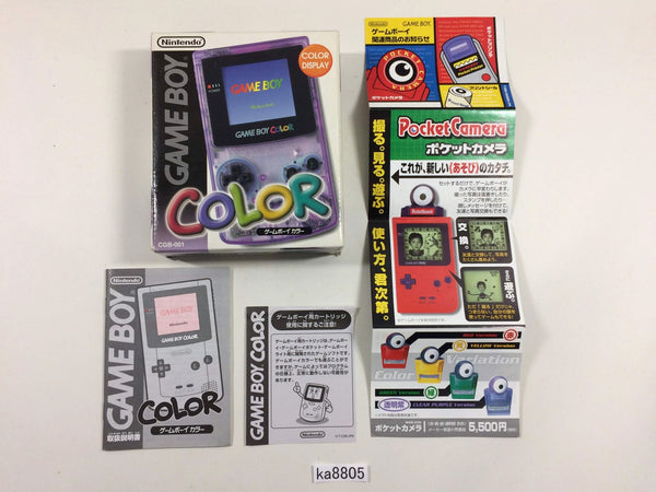 ka8805 GameBoy Color Console Box Only Console Japan