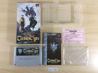 dc7128 Tactics Ogre Let Us Cling Together BOXED SNES Super Famicom Japan