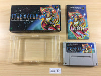de3147 Star Ocean BOXED SNES Super Famicom Japan