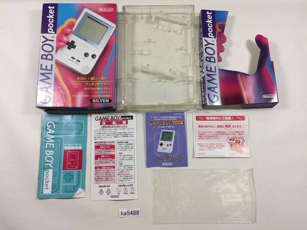 ka5486 GameBoy Pocket Console Box Only Console Japan