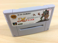 ua3603 Ys III 3 Wanderers from Ys BOXED SNES Super Famicom Japan