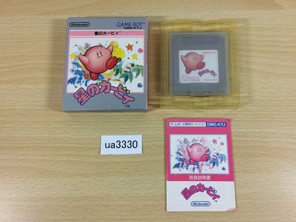 ua3330 Kirby Kirby's Dream Land BOXED GameBoy Game Boy Japan