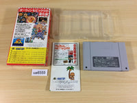 ua6555 Super Genjin Bonk's Adventure BOXED SNES Super Famicom Japan