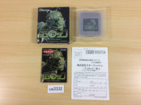 ua3332 Turok Battle of the Bionosaurs BOXED GameBoy Game Boy Japan