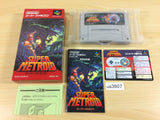 ua3607 Super Metroid BOXED SNES Super Famicom Japan