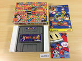 ua3193 Same Game BOXED SNES Super Famicom Japan