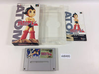 dd8495 Tetsuwan Atom Mighty Atom BOXED SNES Super Famicom Japan