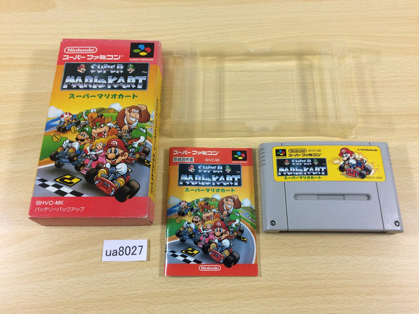 ua8027 Super Mario Kart BOXED SNES Super Famicom Japan