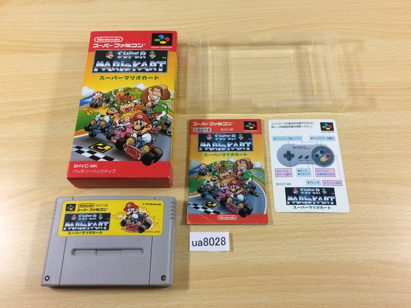 ua8028 Super Mario Kart BOXED SNES Super Famicom Japan