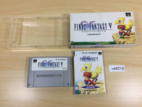 ua6219 Final Fantasy 5 V BOXED SNES Super Famicom Japan