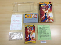 ua6222 Final Fight 2 BOXED SNES Super Famicom Japan