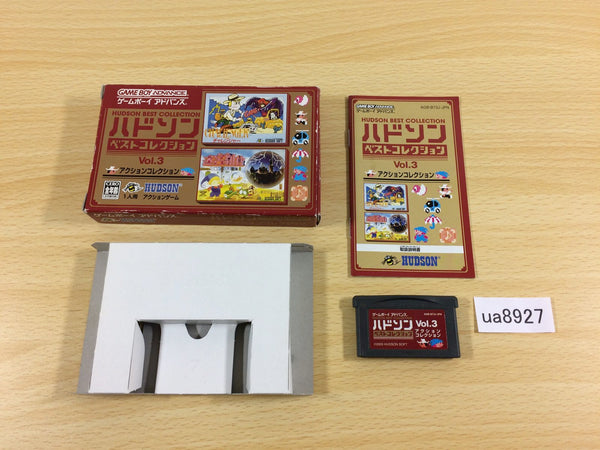 ua8927 Hudson Best Collection Vol.3 Action BOXED GameBoy Advance Japan