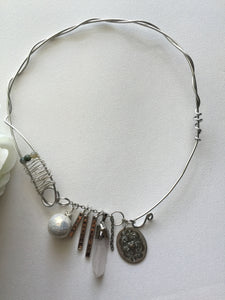 Quartz Freeform Necklace