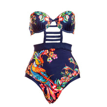 One piece trendy swimsuit