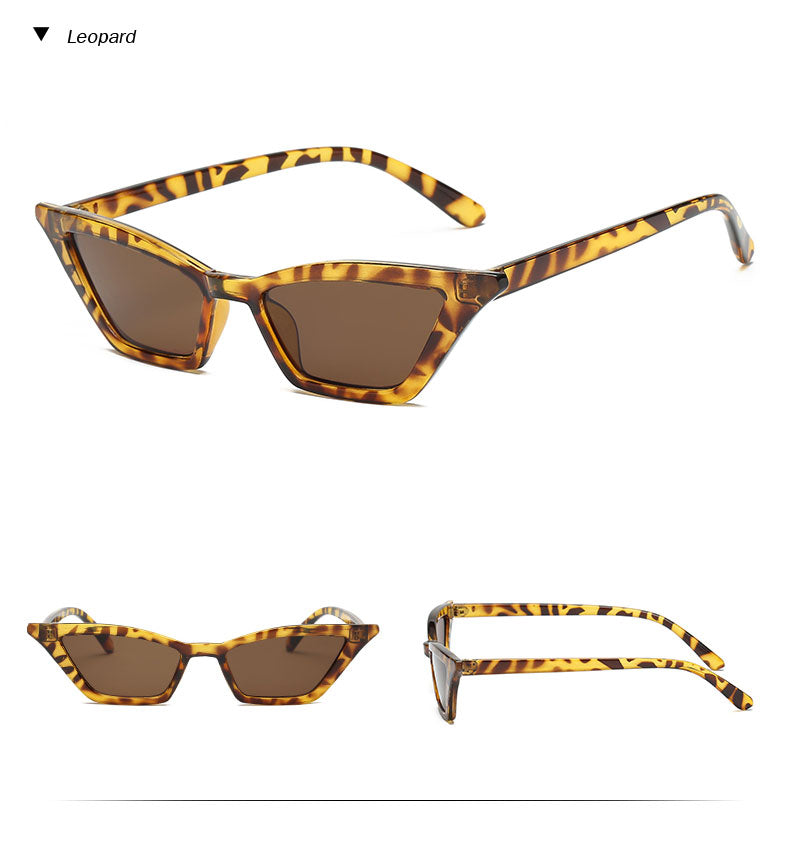 Posh Army 2018: Retro Cat Eye Spring & Summer Sunglasses, in Various, Unique Colors