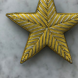 The Big Star Brooch - 2 Golden Lines