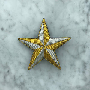 The Big Star Brooch - Golden Kite