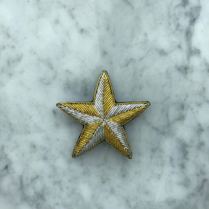 The Small Star Brooch - Golden Kite