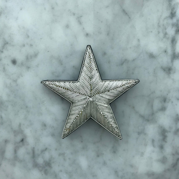 The Big Star Brooch - All Silver
