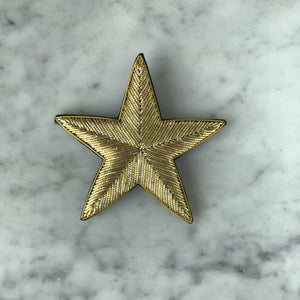 The Big Star Brooch - Gold & Silver