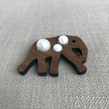 The Elephant Brooch