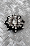 Black Tish Tish Brooch - Small