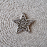Big Crystal Star Brooch