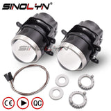 HID Bi-xenon Projector Fog Lights Lens For Ford Focus SUBARU FORESTE