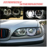For BMW 3 Series E46 2.5 H1 HID Bixenon Projector Lens Headlight Retrofit