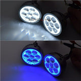 3.0 LED High Beam Projector Lens Devil Eyes H1 H7 9005 9006 LED Lights
