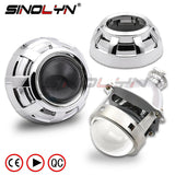 H1 H4 H7 Bi-xenon Lens Projector 3.0 W/ Apollo Shrouds For Car Lamp Retrofit