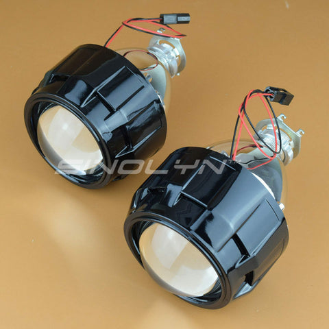 Car Motorcycle Upgrade 2.5'' 8.0 H1 HID Bi-xenon Projector Lens Headlight