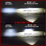 Bi-LED Projector Lens H1 9005 9006 H4 H7 LED Lamps Car Headlight