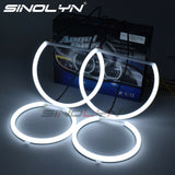 For BMW E53 X5 LED Angel Eyes Rings Cotton White Halo Headlight