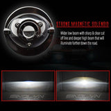 Fog Lights HID Bi xenon 3.0'' Projector Lens universal Kit Car Motorcycle