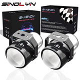 Universal H11 HID Bi-xenon Fog Lights Driving Lamp Projector Lens