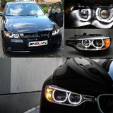 Acrylic LED Angel Eyes Halo Rings For BMW E60 E90 E91 E82 E87