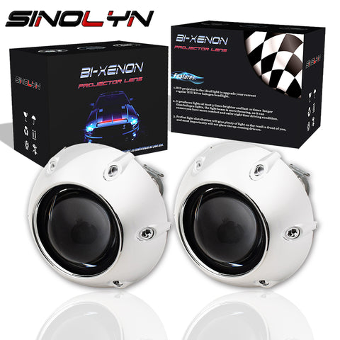 2.5'' Mini HID Bi xenon Lens Projector Headlight With GTI-R Shrouds