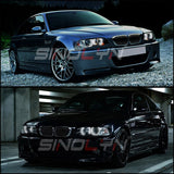 Angel Eyes LED Halo DTM StyleFor BMW E46 M3/E39/E36/E38 Headlight
