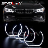 LED Angel Eyes Ring Halo For BMW E90 E60 F30 E87 E92 E82 F31 M5 E82 M3 M4