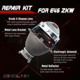 For BMW 3 Series E46 ZKW HID Bi-xenon Projector Lens Retroquick Repair Kit Headlight Replacement