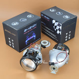 Upgrade 2.5 HID Bi-xenon Lens Projector Headlight H4 H7 Use H1 Bulb