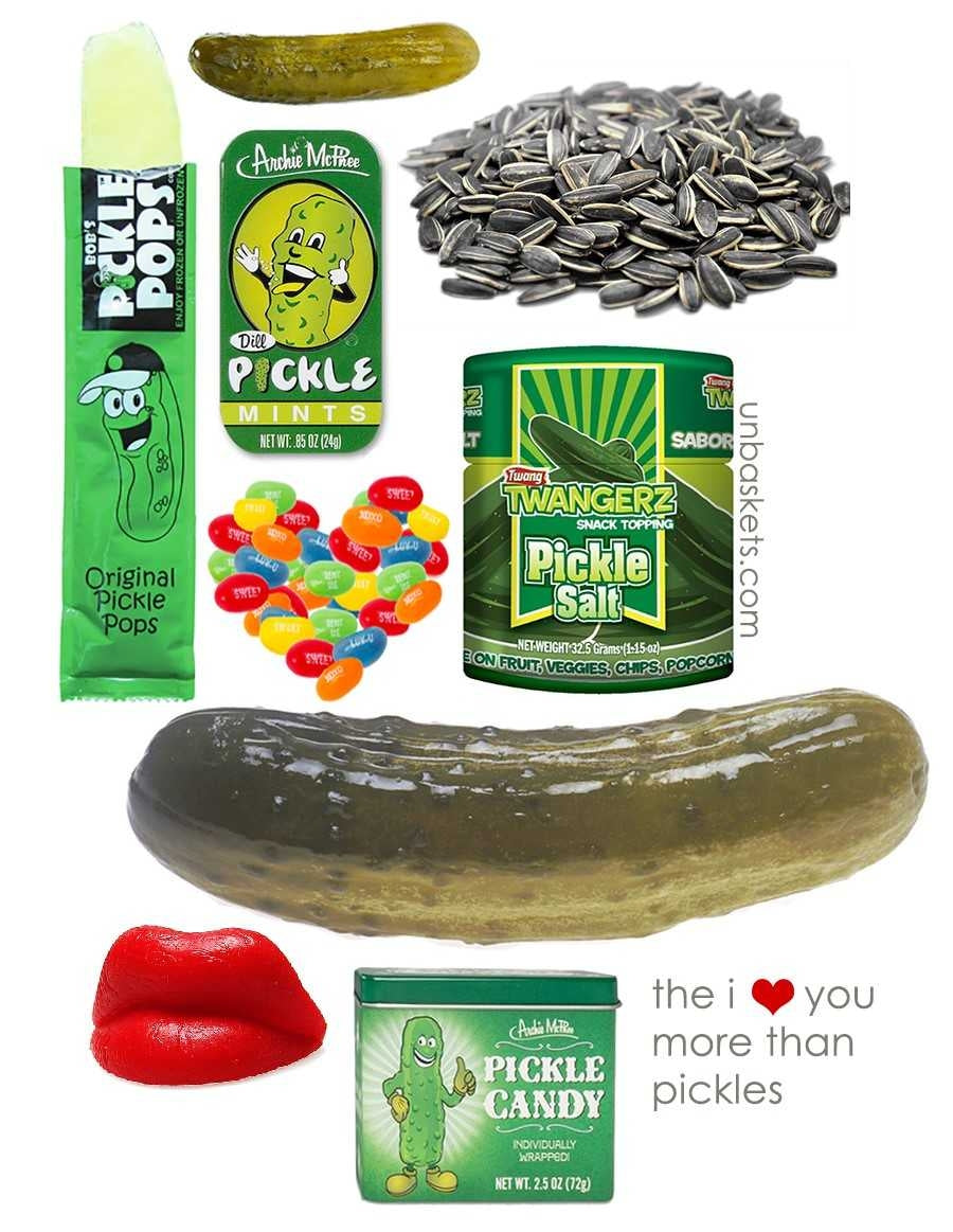 The I Love You More Than Pickles unBasket