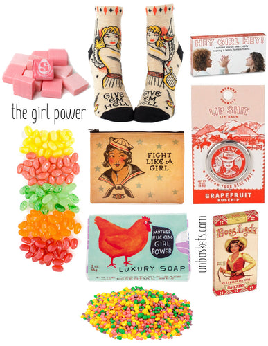 girl power gift box